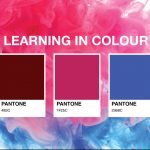 Learning in colour banner with Pantone images