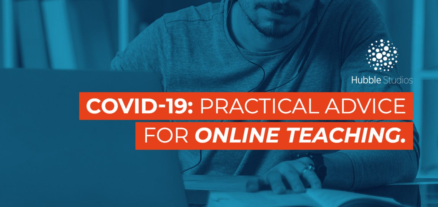 COVID-19- Practical advice for online teaching